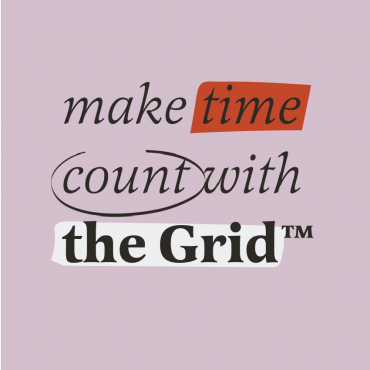 Make Time Count With The Grid text