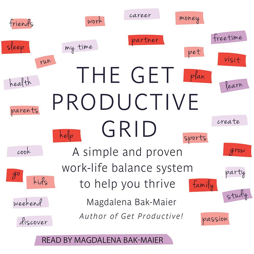 The Get Productive Grid Books