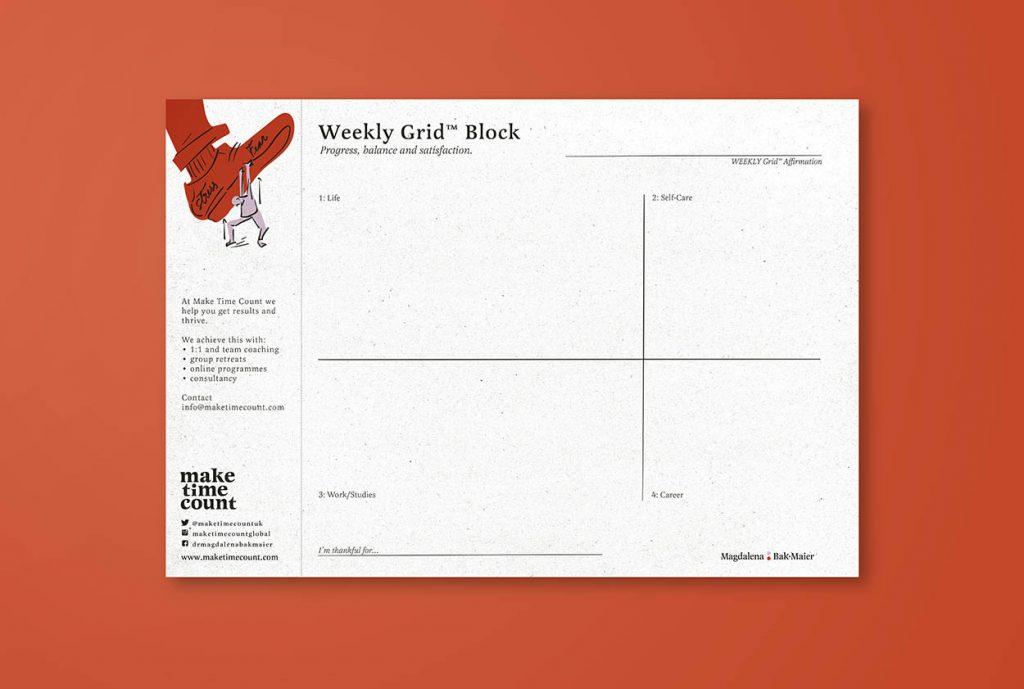 Grid Weekly Block – 25 Weeks